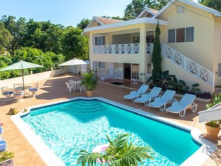 The beautuful Butterfly Villa situated in the exclusive Silver Sands estate