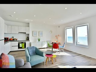 Seaside Escape on the Kent coast -luxury 2 bedroom apartment with stunning views