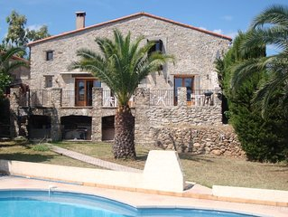 Villa With Private Garden & Exclusive Swimming Pool Close To Mediterranean