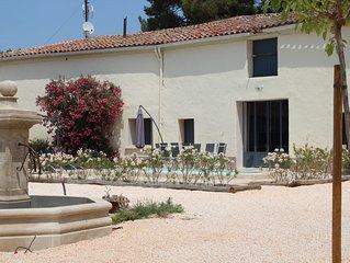 Maison de vacances au calme avec piscine privée proche mer - 6/8 PERSONNES