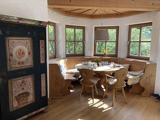 Traumhaft schöne Wohnung mit Bergblick