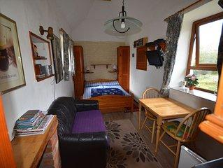 reetgedecktes 2 Personen Cottage mit Doppelbett