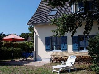 Familienfreundliches Haus, Haffblick, Kaminofen, Strand 450m, freies WLAN