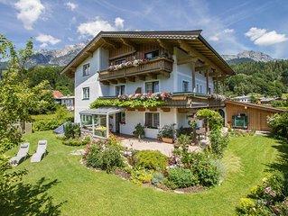 Familienfreundliche Ferienwohnung 70m² im Bikeparadies Leogang/Saalbach