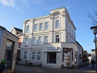 Villa Scherz - EG, stilvoll, zentral, ruhig, hell, WLAN, Promenade 400m