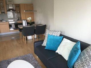 Apartment mit Seeblick und Seezugang in Ruhelage Veldens