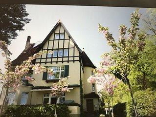 Urlauben in Hamburger Stadtvilla auf zwei Ebenen