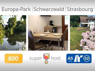 Apartment near Strasbourg - Europapark - Schwarzwald  38sq