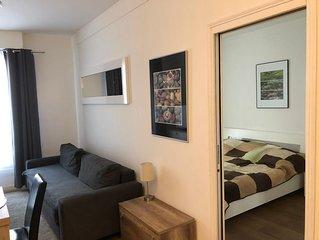 Appartement fur bis zu 4 Personen nahe Strand und Boulevard Croisette