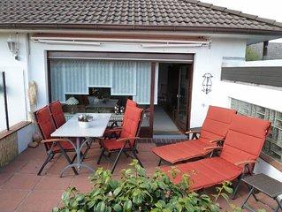 2-Raum-Ferienwohnung 80 m2 mit Sudterrasse