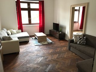 Cosy and spacious apartment in the city centre