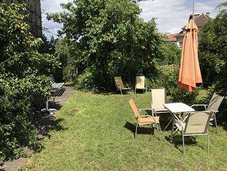 Gemutliches Apartment mit Balkon und Garten
