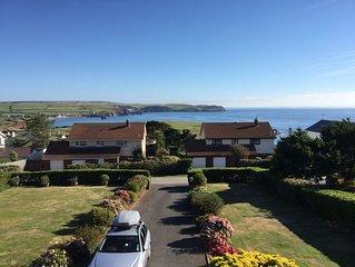 New for 2019 - Great family coastal rental in beautiful Devon village. Sleeps 10