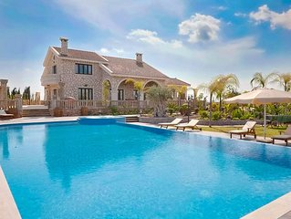 Unique Rural Estate with 4 Bedrooms, A/C, Private Pool, Outdoor Jacuzzi, Sauna a