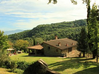 TUSCANY HOUSE IN POPPI (CASENTINO) WITH SWIMMING POOL