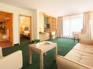 Suite Hotel Leipzig - Suite mit Küche/Bad und 2 getrennten Zimmern