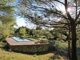 Grande maison avec piscine au pied du parc naturel du Luberon