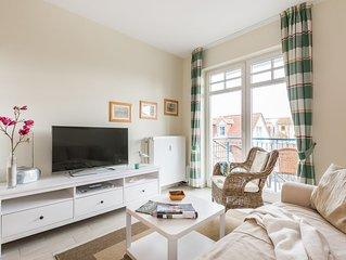 Appartement 219 - 100m zum Strand - Balkon - Schwimmbad - WLAN - PKW Stellplatz