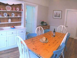 Family Holiday Cottage opposite Trevone Beach, ideal for all ages!