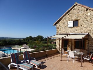 Independent Gite Attached To Main Property, With Private Pool