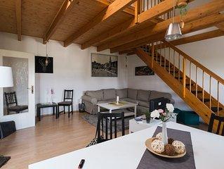 Maisonette DG-Wohnung im exklusiven Waldstraßenviertel