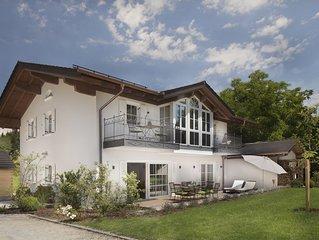 5 Sterne (DTV) Exklusive 'Lavendelterrasse', barrierefrei - Chiemseenahe, Neu!