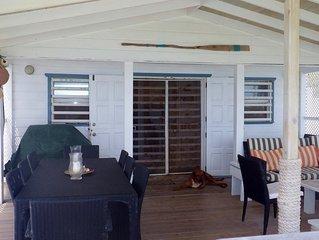 NEW! The Boathouse Villa - beachfront, pool at Moonfish Villas on Bathway Beach!