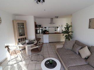 Moderne Wohnung Souterrain