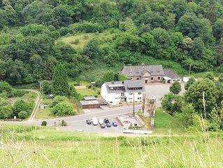 (g)Roosartige Ferien in Bacharach-Steeg, Moderne Ferienwohnung im Grünen