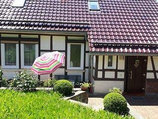 Schönes komfortables Ferienhaus in Waldnähe, Thür.Wald