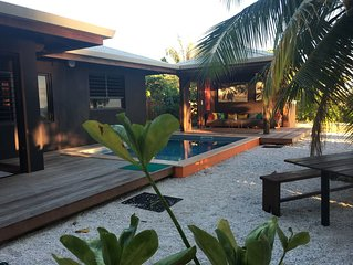 Luxury Beach House        Private Pool & Beach