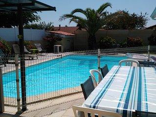Villa Climatisée avec Piscine Chauffée à 10min des plages