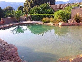 Maison Le Citronnier avec piscine pour 4/6 pers