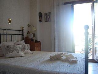 'The Ocean Maisonette' a family maisonette in Siviri