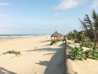Mikida House è una villa a 150 metri dall'Oceano Indiano
