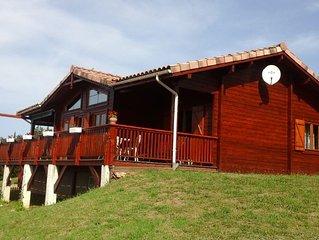 Adorable maison bois à  Moissac avec Wifi