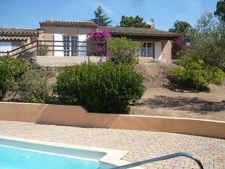 Maison individuelle avec piscine privée dans  Golfe de Saint-Tropez