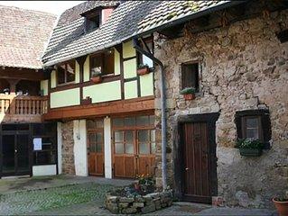 Gite de charme 13 personnes a Orschwihr, Alsace