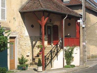 Maison vigneronne au coeur du Jura