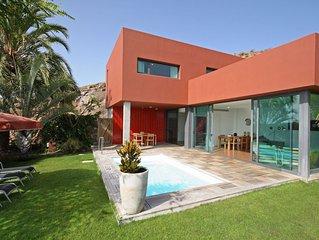 Villa con piscina privada Salobre Villas VI