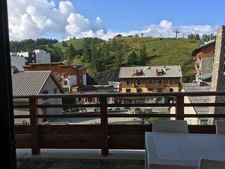 Bel Appartement Centre village dans Residence de luxe, 50 m des pistes