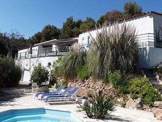 Bandol : Une villa contemporaine en pleine nature