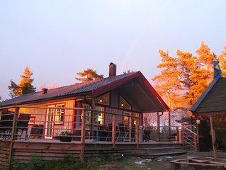Amazing high-end Westcoast Cottage w/ forest/nature/lake & close to archipelago