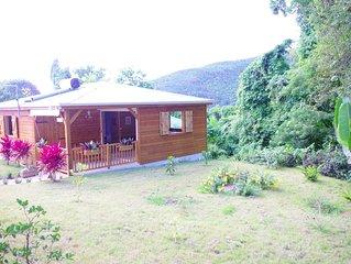 Joli bungalow piscine sur les hauteurs de Pointe-Noire - bungalow Alex