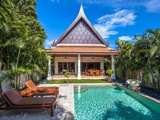 Montrachet - villa de 2 chambres grand jardin et piscine privée proche commerce