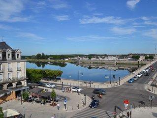 Appartement en hyper centre avec vue sur Loire