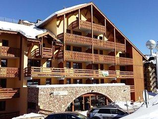 T3de 43 m2  5pers max   2Ch 2sdb Etage4 Calme ensoleillé balcon SOuest