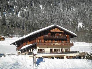 Gite 10 personnes ,pied des pistes, Hte Savoie,Chatel, Domaine Portes du Soleil