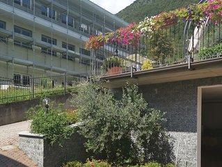Villa Chiara, villa con giardino molto soleggiata