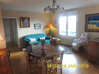 Appartement 50m2, 1 chambre, très bien situé : Accueil et confort